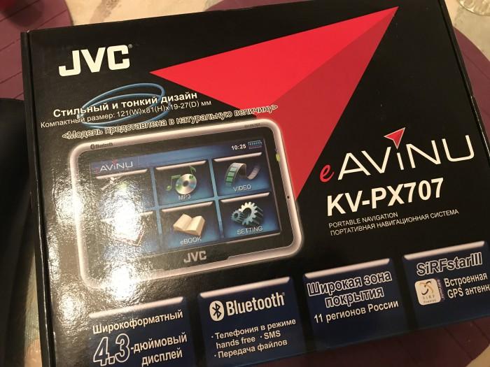 Для гуру ВинМобайл продаю навигатор JVC kv-px707