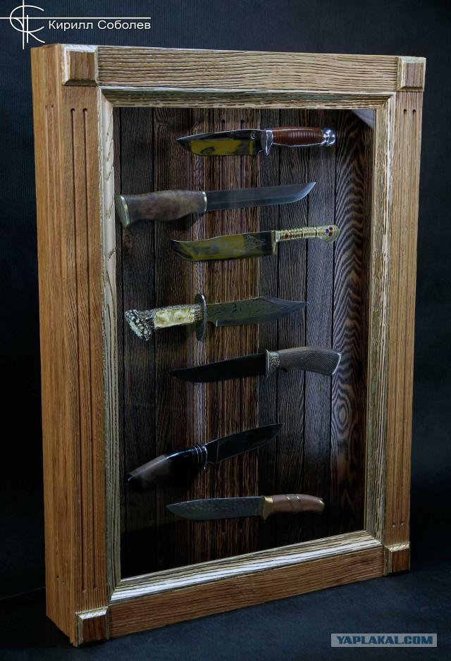 Витрина для ножей