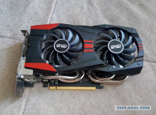 ASUS GeForce GTX760 2 gb Москва