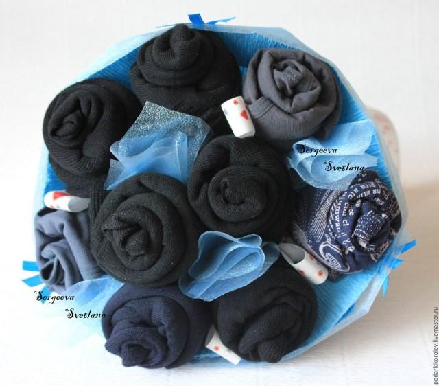Подарки из мужских носков