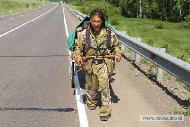 Якутский шаман Габышев решил возобновить поход на Москву