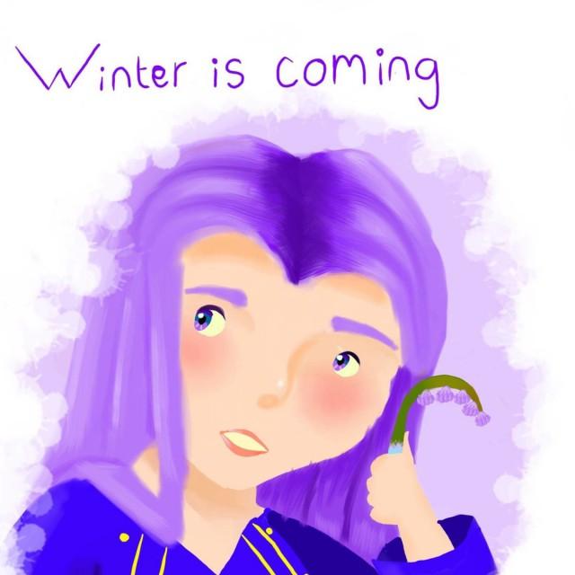 Телеканал HBO заставил создателей конкурса детских рисунков удалить рисунок с надписью «Зима близко»