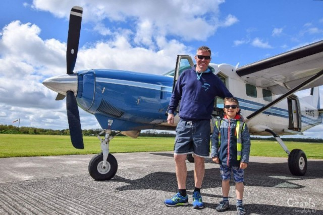 Отец прыгнул с парашютом из самолёта, где остался и погиб его малолетний сын