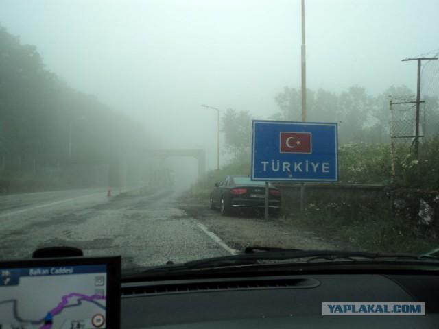 По Стамбулу на автомобиле.