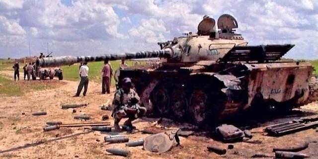Aмериканские «джавелины» против войск Саддама