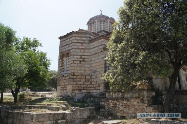 Греция, конец мая, самотур