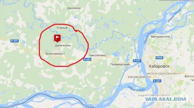 Трехлетняя девочка пропала недалеко от Хабаровска