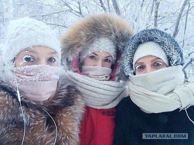 Самое холодное село в мире. Реакция иностранцев на российский Оймякон