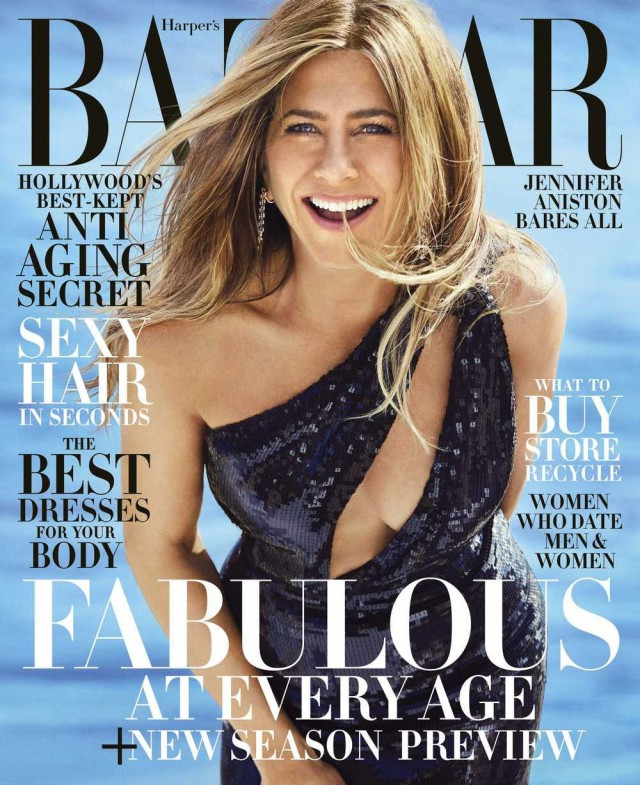 Фотосессия Jennifer Aniston (Harper's Bazaar US июнь/июль 2019)
