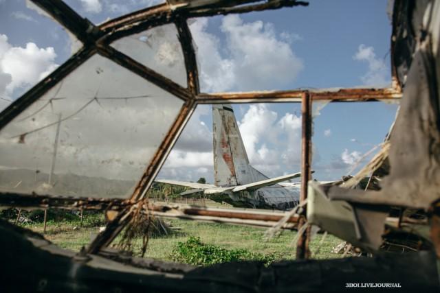 Заброшенный аэродром на далекой Гренаде