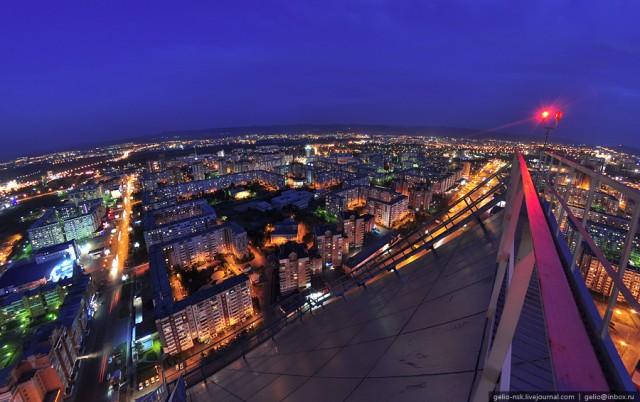 Виртуальное путешествие в Красноярск: Вид с высоты