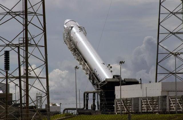Взорвался прототип ракеты-носителя Falcon 9R