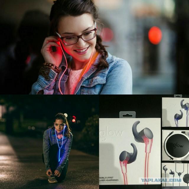 Наушники Glow headphones. Эксклюзивные.