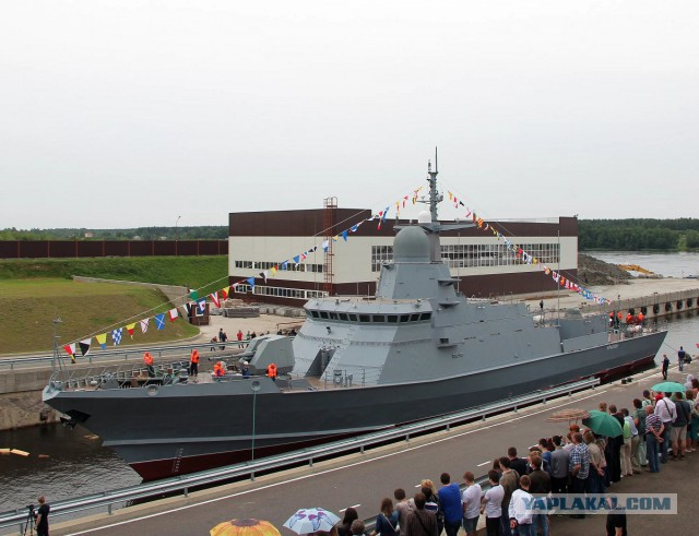 Второй серийный ракетный корабль проекта «Каракурт» спустят на воду в ноябре