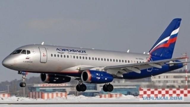 В Шереметьево произошло очередное ЧП с Superjet «Аэрофлота»