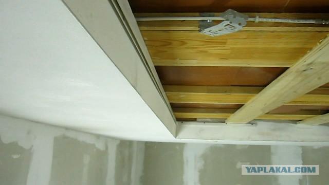 Как я потолок натянул