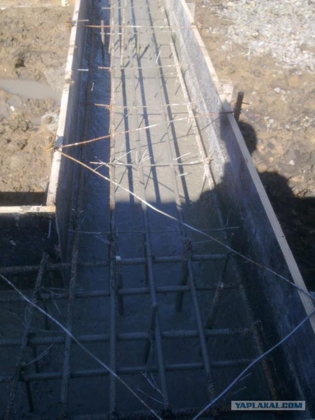 Строим монолитный фундамент дома