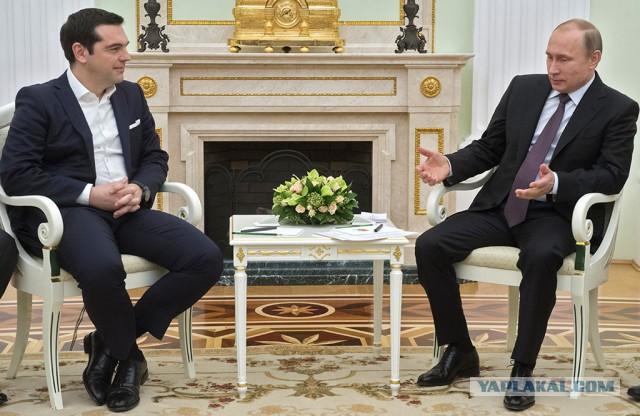 Путин предложил Греции участие в «Турецком потоке»