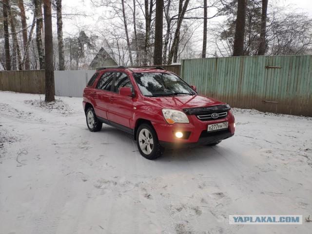 Продаю Kia Sportage II 2.0AT 4WD 2009 Моск.обл