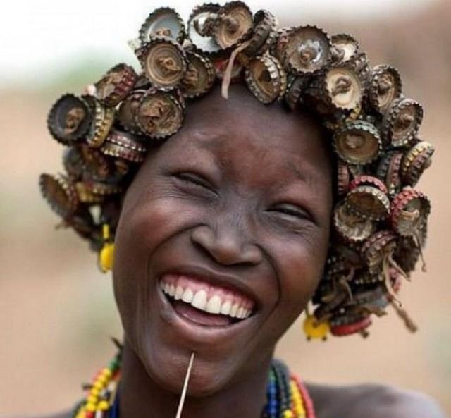 Женская красота диких племен планеты