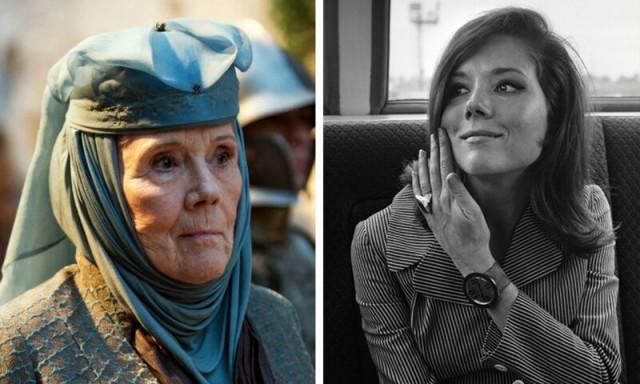 Фотографии взрослых актёров из «Игры престолов», которые покажут, как они выглядели в молодости