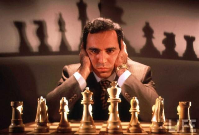 Имя Гарри Каспарова вычеркнули из книги, посвященной победам советского спорта