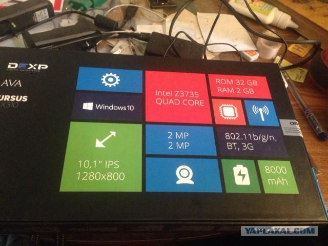 Продам новый планшет DEXP Ursus kx310