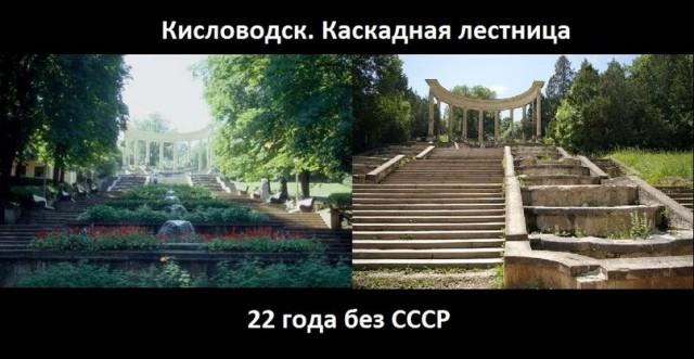 Кисловодск. Каскадная лестница