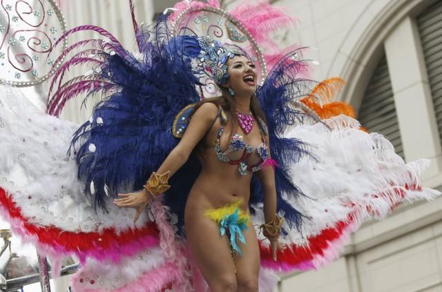 34-й Asakusa Samba Carnival в Японии