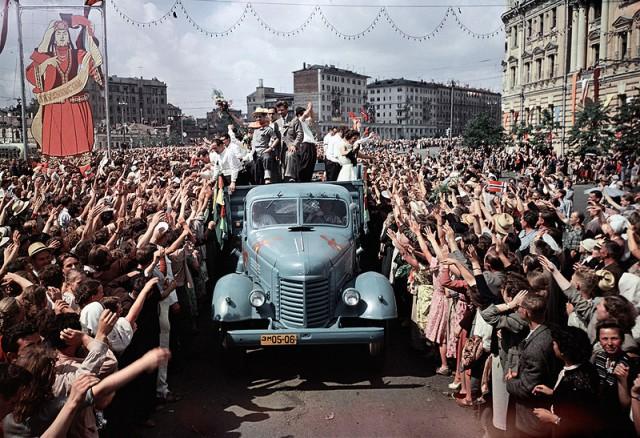 20 век в цвете. Какой была наша страна 60 лет назад