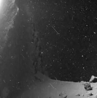 Секунда с поверхности кометы Чурюмова — Герасименко