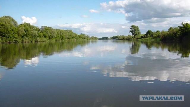 Сплав по реке Оке.
