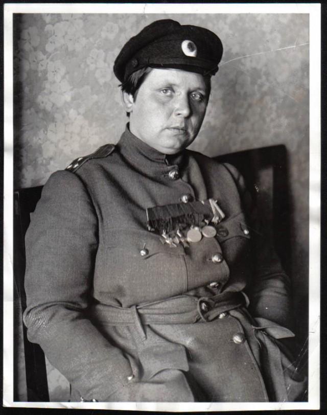 Мария Бочкарева, и ее женский «батальон смерти»