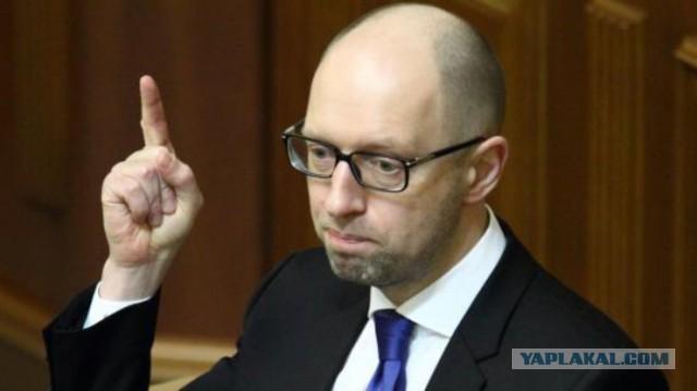 Яценюк предупредил Раду об угрозе дефолта
