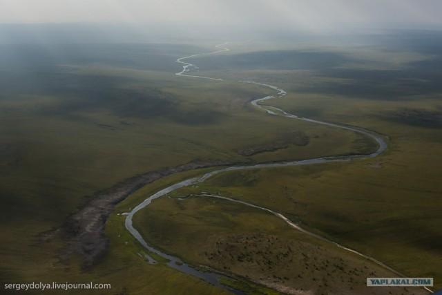 Сплав по реке Котуйкан.
