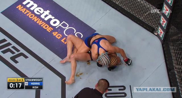 «Дерьмо случается». Конфуз в женском бою UFC