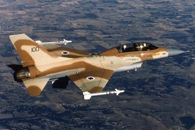 Израиль сбил иранский беспилотник и потерял свой истребитель F-16
