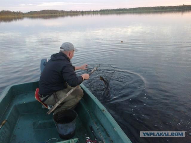 рыбалка на глухих таежных местах