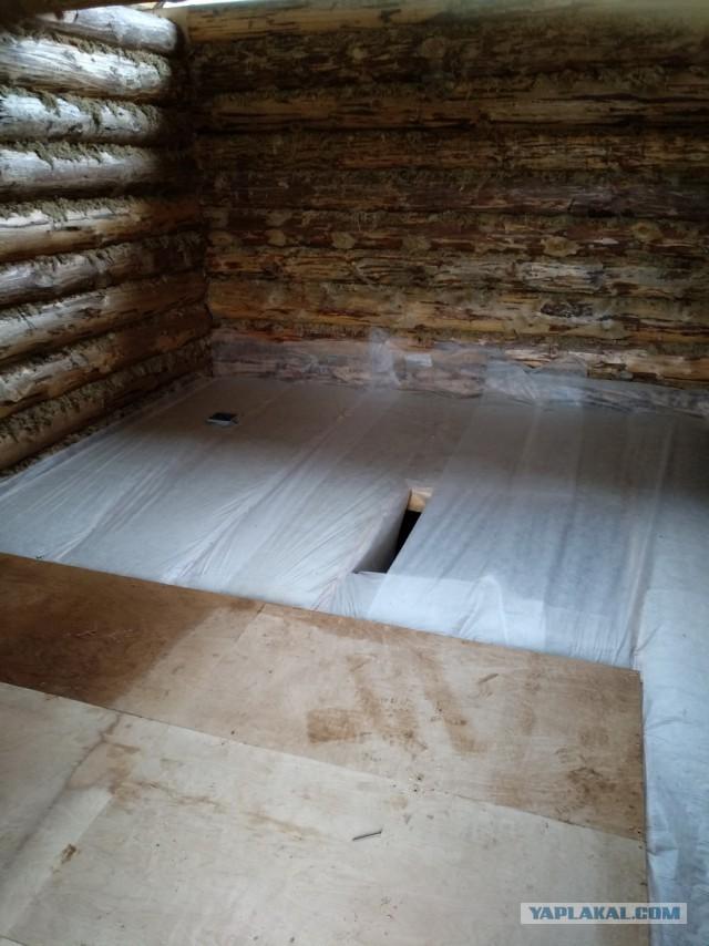 Строительство бани, часть 1
