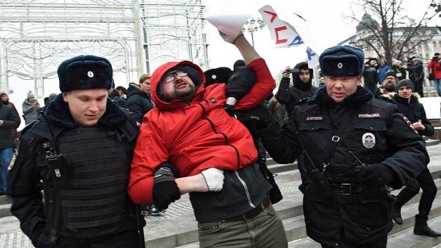 На «Маршах материнского гнева» прошли задержания