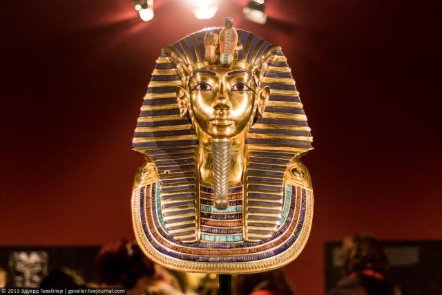 Сокровища гробницы Тутанхамона...