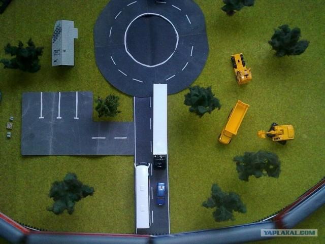 Как сделать макет железной дороги в домашних условиях