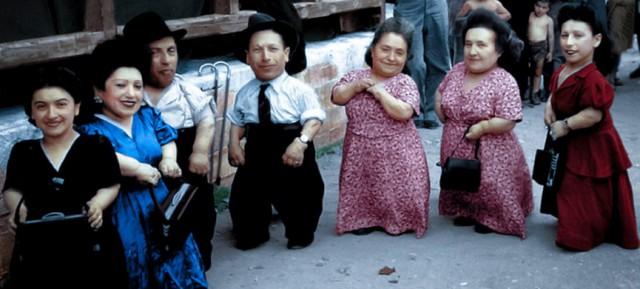 Лилипуты в Освенциме