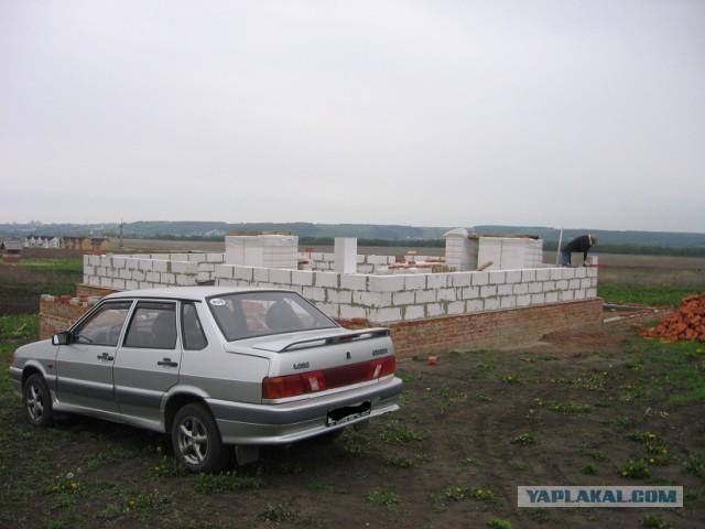 Как в России построить дом за 6 лет