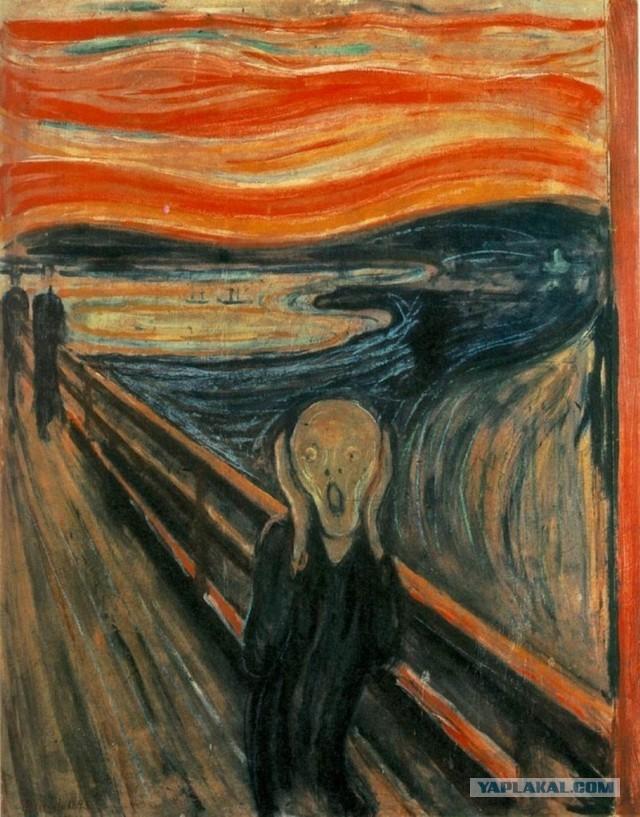 Абрамович купил знаменитую картину «Крик» Мунка за $120 миллионов