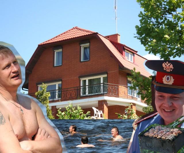 Дымовский и компания свалили забор на даче Путина