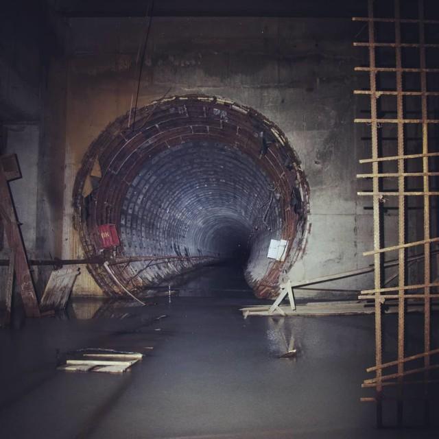 Самое жуткое метро в мире: как выглядит недостроенный метрополитен в Омске