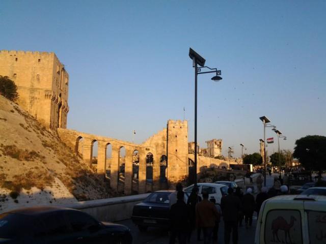 Сирия: от Хмеймима до Алеппо