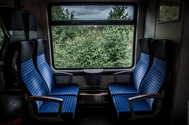 Немецкие региональные поезда