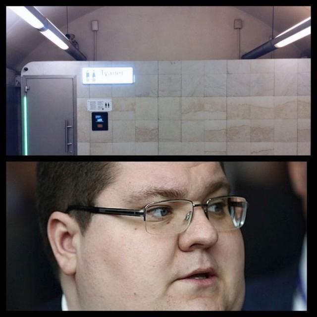 60 рублей за каждое посещение пассажирами новых туалетов на 25 станциях московского метро будет получать через Игорь Чайка